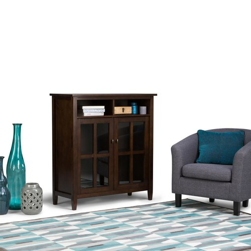 Simpli Home Tobacco Brown Cabinet