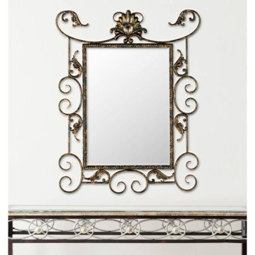 Safavieh Pamela Mirror, Antique Brown/G