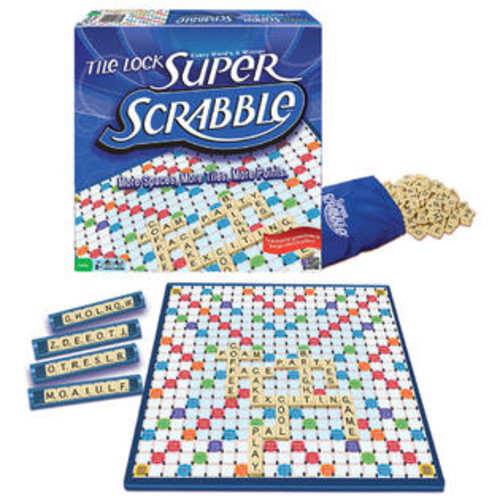Winning Moves Games Winning Moves Tile Lock Super Scrabble Board Game