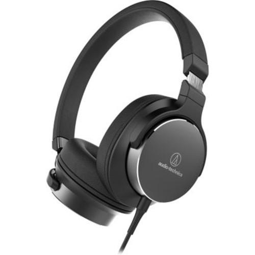 Audio-Technica On-Ear High-Resolution Audio Headphones (ATH-SR5BK)