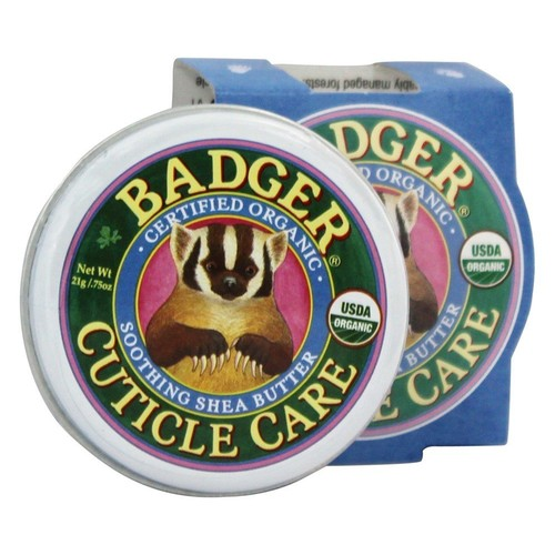 Badger - Cuticle Care Soothing Shea Butter - 0.75 oz.