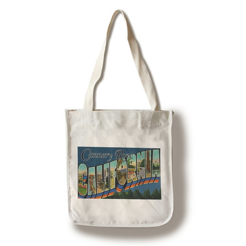 Greetings from Cannery Row, California (100% Cotton Tote Bag - Reusable)