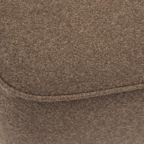 Safavieh Mid-Century Brown Wool Ottoman