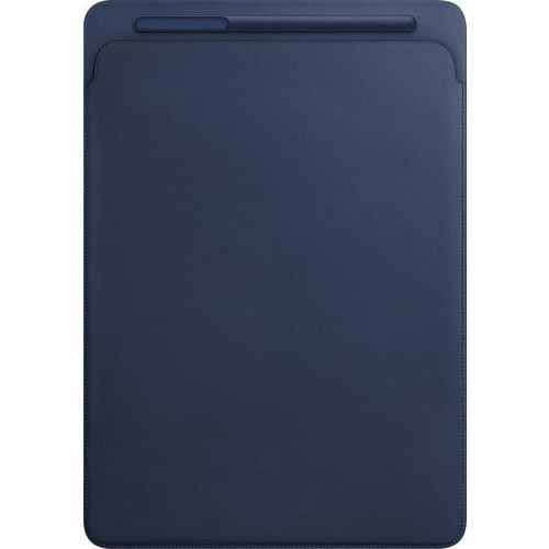 Apple - Leather Sleeve for 12.9-inch iPad Pro (Latest Model) - Midnight Blue