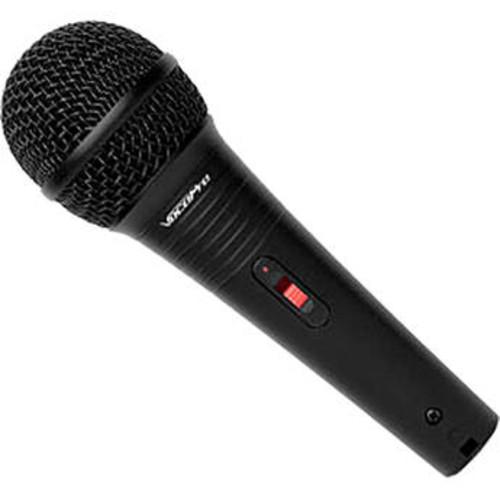 MK-38 PRO Wired Karaoke Microphone with Cable (Black Leatherette)