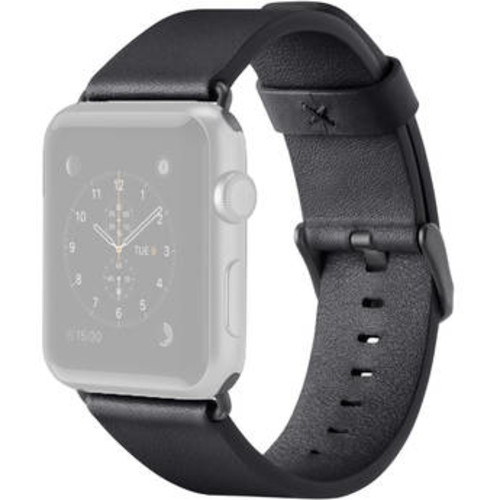 Classic Leather Band for Apple Watch (38mm, Black)
