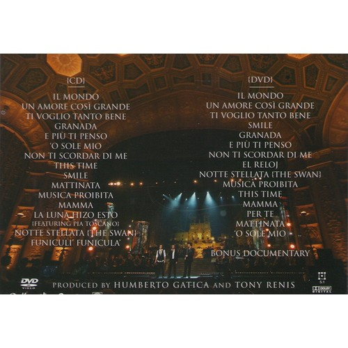 Il Volo Takes Flight Live From The Detroit Opera House CD+DVD Deluxe Edition