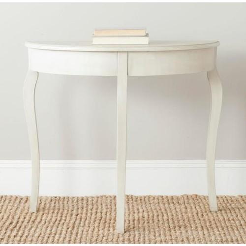 Safavieh Sema Antique White Console Table