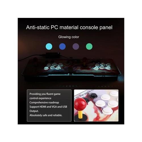 Multi-game 846 in 1 Family Box Dual Joystick HD Home Game Machine Beauty Pattern,US Plug