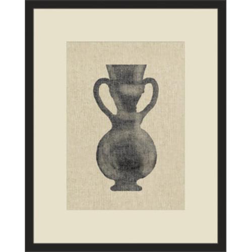 Pretty Urn IV Framed Graphic Art