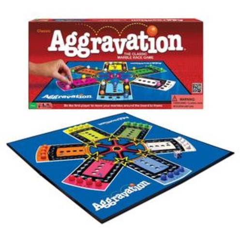 Winning Moves Games Aggravation Classic Marble Race Game