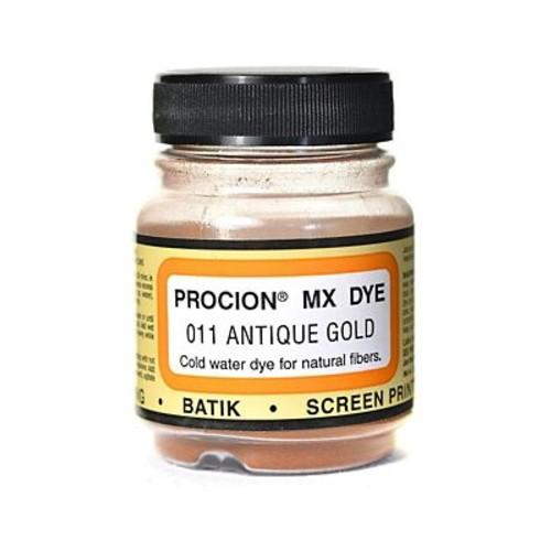 Jacquard Procion MX Fiber Reactive Dye antique gold 011 2/3 oz. [Pack of 3]