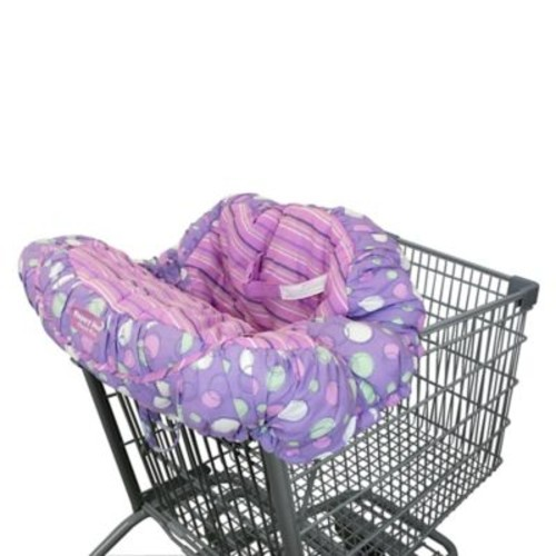 Floppy Seat Shopping Cart Cover in Purple
