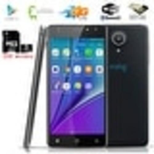 2018 Android 6 4G LTE GSM Unlocked SmartPhone ( 5.6-inch + QuadCore + Fingerprint unlock ) Black + 32gb microSD