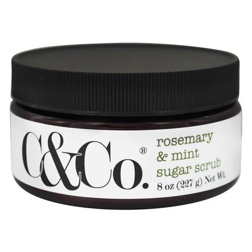 C & Co. - Sugar Scrub Rosemary & Mint - 8 oz.
