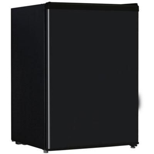 Midea HS87L Full Width Single Section Compact Refrigerator, Black