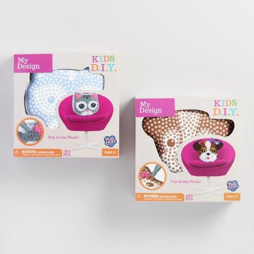 Plush Animal Craft Kit