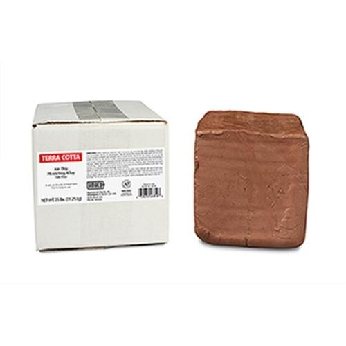 AMERICAN ART CLAY AMA46319S AMACO AIR DRY CLAY TERRA COTTA 25LB