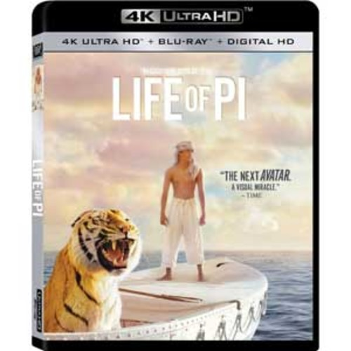 Life of Pi [4K UHD] [Blu-Ray] [Digital HD]