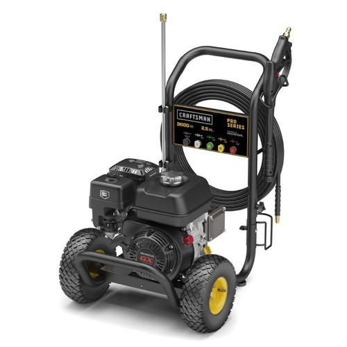 Craftsman 020653 3600psi 2.5 GPM Gas Pressure Washer