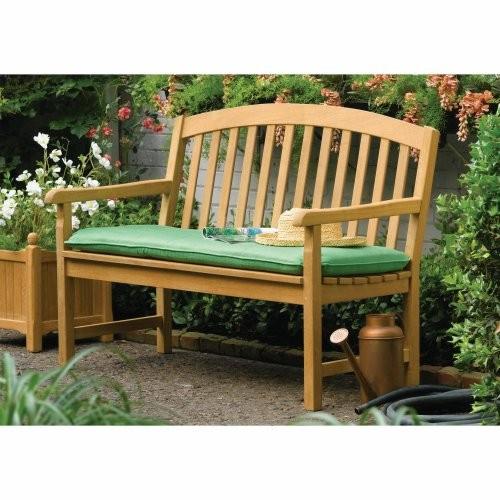 Oxford Garden Chadwick Shorea Wood 4 ft. Bench [Natural]