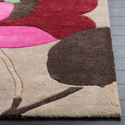 Ebern Designs Cruz Sand Area Rug; 6' x 9'