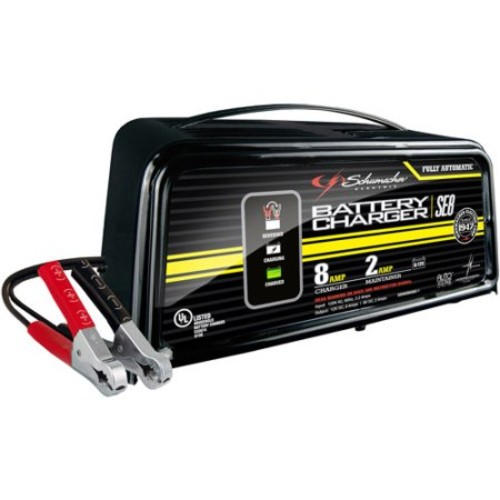 Schumacher Electric 2/8-Amp 6/12V Battery Charger:
