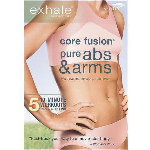 Exhale: Core Fusion - Pure Abs & Arms [DVD] [2009]