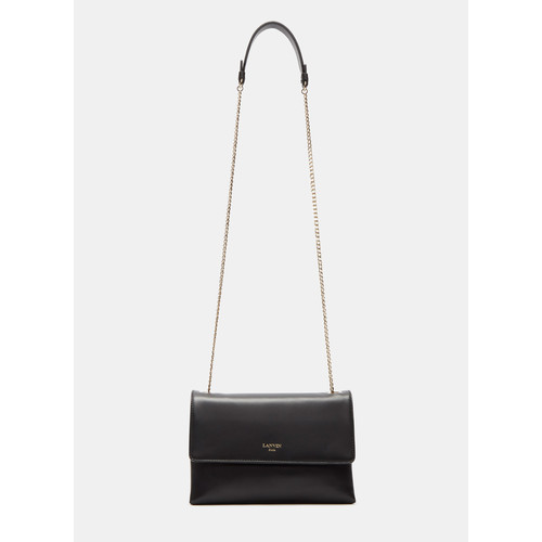 Mini Sugar Crossbody Bag in Black