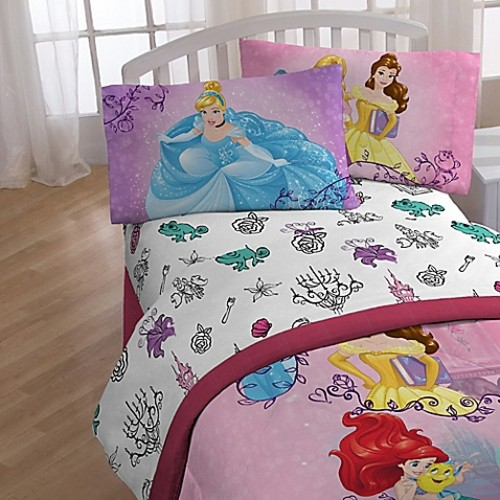 Princess Friendship Adventures Twin Sheet Set