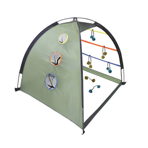 OUTSIDE INSIDE Dome 2-in-1 Ladderball/Cornhole Game