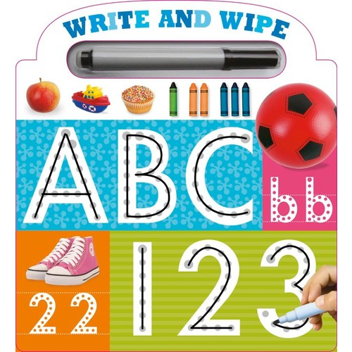 My First Write and Wipe ABC