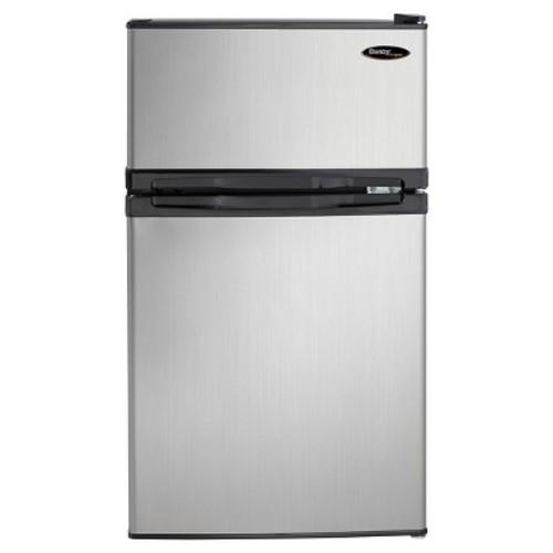 Danby Designer 3.1 Cu.Ft. Mini Refrigerator - Silver DCR031B1BS