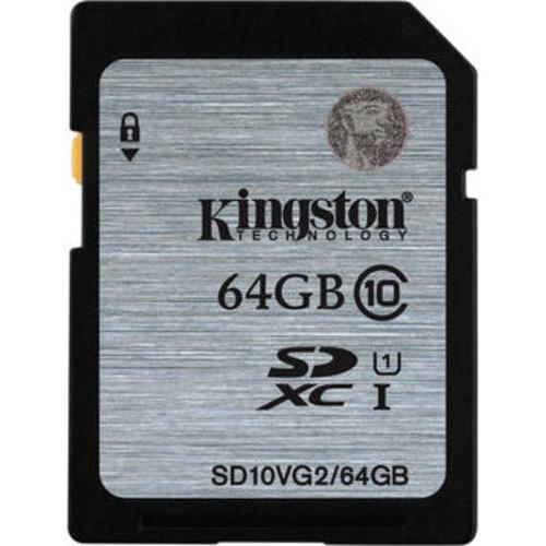 64GB UHS-I SDXC Memory Card (Class 10)