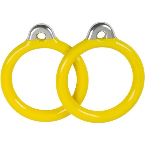 Swing Set Stuff Commercial Coated Round Trapeze Rings (Set of 2)