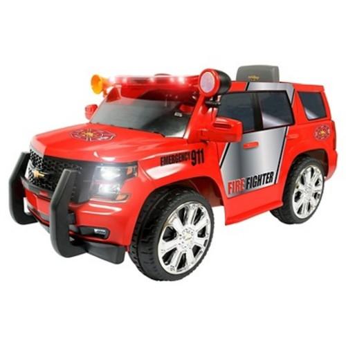 Rollplay GMC Yukon Denali Fire Rescue Truck ERO 6V