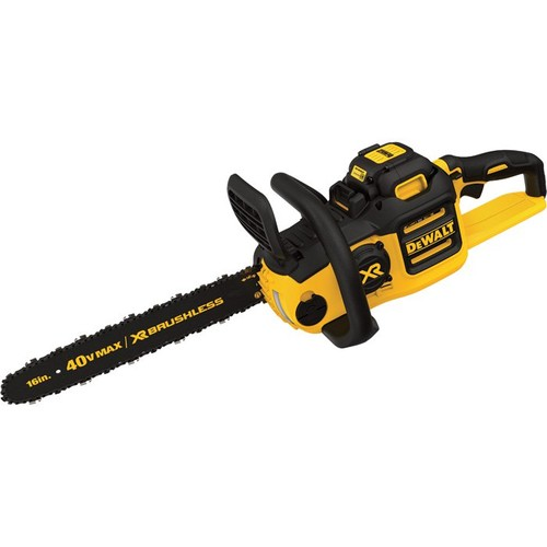 DEWALT 40V Max Li-ion Cordless Chainsaw  16in. Bar, 4.0Ah Battery,