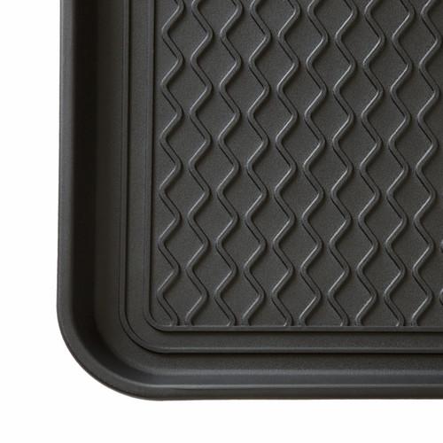 Stalwart 24 x 15-inch Black Eco Friendly Utility Boot Tray Mat