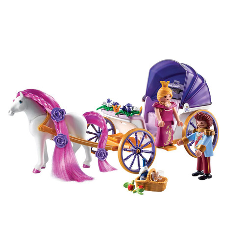 Playmobil Royal Couple with Carriage Playset - 9161