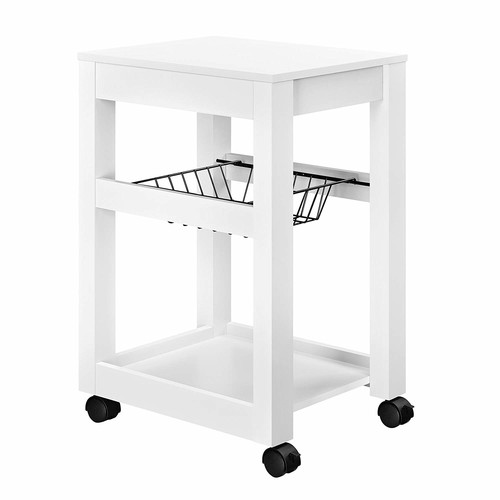 Altra Furniture Altra Parsons Storage Cart, White [White]