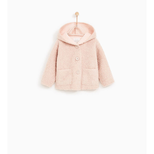 DOUBLE SIDED COAT WITH HOOD