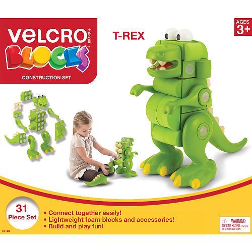 Velcro(R) Blocks(TM) T-Rex Construction Set 31 Pieces