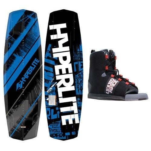 Hyperlite Machete 140cm Wakeboard Package + Liquid Force Roundhouse Bindings