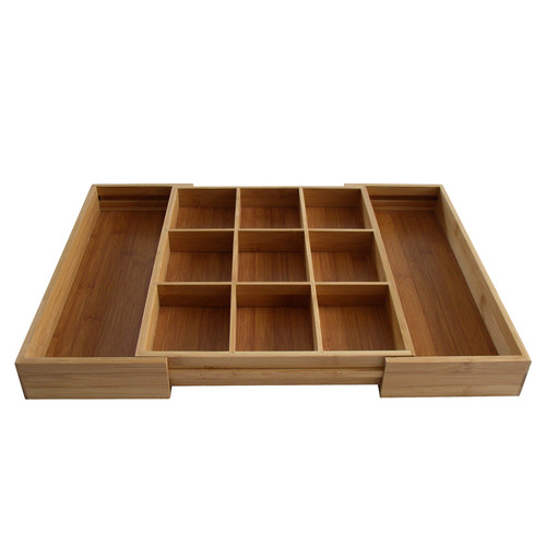 Axis Bamboo Expandable Od's & End's Drawer Organizer