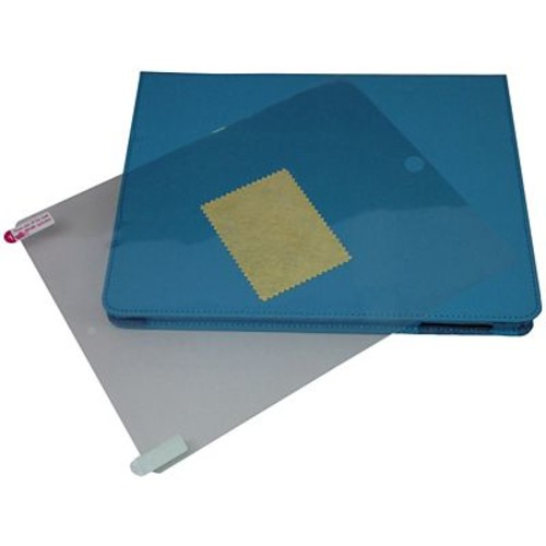 GameFitz Tri-Fold Folio Cases with Screen Protector for iPad 3, 4