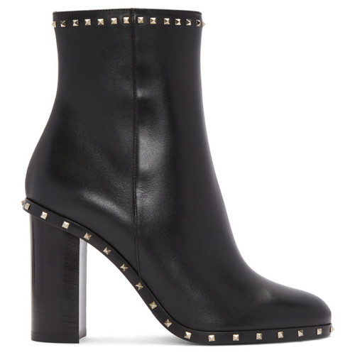 VALENTINO Black  Garavani Soul Rockstud Boots