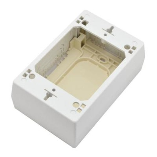 Legrand Wiremold CordMate II Device Box - White