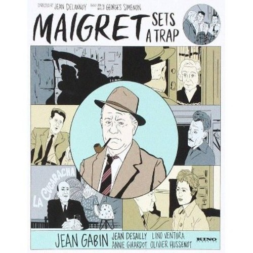 Maigret Sets A Trap (Blu-ray)