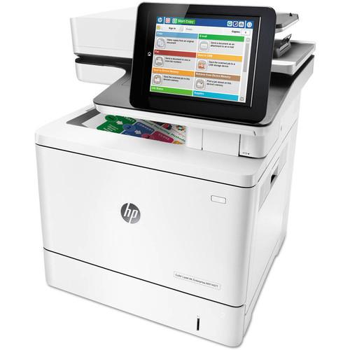 HP LaserJet M577c Laser Multifunction Printer