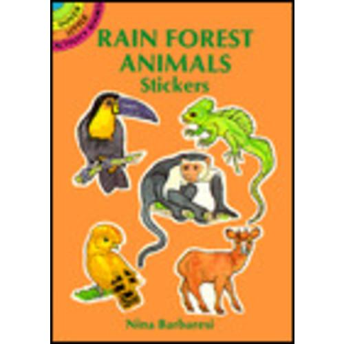 Rain Forest Animals Stickers